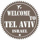 Welcome To Tel Aviv-label