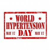World Hypertension Day-stamp