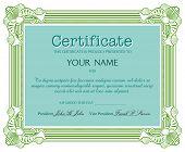 Certificate concept