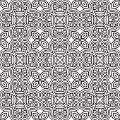 decorative modern geometric seamless pattern
