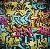 Graffiti Grunge Background