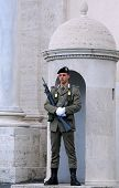 Guard Of Honor In Rome
