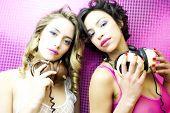 Two Beautiful Sexy Disco Women
