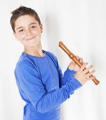 Boy With Flute