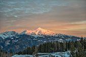 Sunrise In Austrian Alps