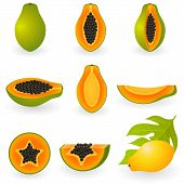 Icon Set Papaya
