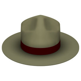picture of wrangler  - Ranger hat khaki green color - JPG