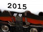 Typewriter Types 2015 Closeup Black Ink