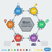 Infographics In Chemical Style