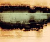 Old grunge background with delicate abstract texture and different color patterns: black; gray; green; brown; yellow