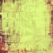 Abstract retro background or old-fashioned texture. With different color patterns: orange; yellow; brown; green