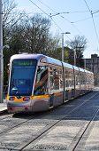 LUAS tram in Dublin