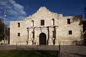 Close Up Of The Alamo In San Antonio Texas