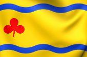 Flag Of Hardenberg, Netherlands.
