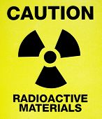 Radioactivity risk