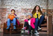 Multi-ethnic Children Group Portrait