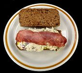 Chicken Salad And Bacon Sandwich