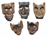 Lithuanian Wooden Masks