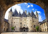 beautiful fairy castles of France -Jumilhac-le-grand