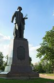 Painter Repin's monument
