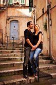 Europe Street Couple poster
