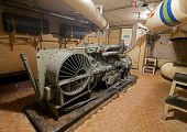 Diesel Generator In Soviet Nuclear Weapon Storage.