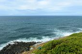 foto of san juan puerto rico  - San Juan Rocky Coast and Caribbean Sea - JPG