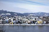 foto of linzer  - Cityscape of Linz from Linzer Schloss - JPG