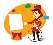 circus ringmaster lady