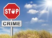 picture of stop fighting  - stop crime stopping criminals by neighborhood watch or police force fight criminal behavior stopping violence and arrest offenders or just by prevention - JPG