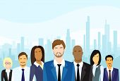 pic of diversity  - Business People Group Diverse Team Vector Illustration - JPG