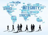 stock photo of honesty  - Integrity Honesty Sincerity Trust Reliability Concept - JPG