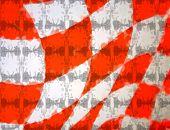 Bubbley Orange Checkered Flag