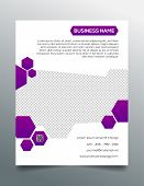 pic of prospectus  - Creative business flyer template  - JPG