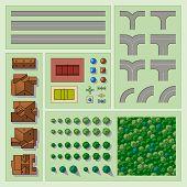 Conjunto de elementos de mapa