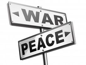 image of stop fighting  - make love not war fight for peace stop conflict and say no to terrorism pacifism road sign  - JPG