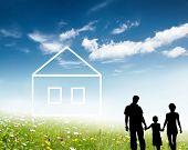 silueta familiar y el nuevo concepto de hogar