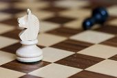 stock photo of chess pieces  - chess - JPG