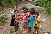 Vietnamese Children Sapa