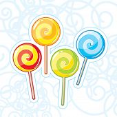 Four vector lollipops