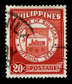 PHILIPPINES - CIRCA 1960:A stamp printed in PHILIPPINES shows image of the Bulacan, officially called the Province of Bulacan, is a first class province of the Republic of the Philippines, circa 1960.