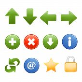 custom web icons vector