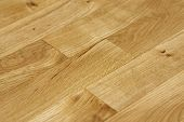 Close Up Of Oak Floor