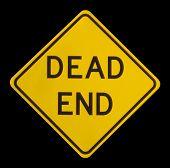 Signo de callejón sin salida