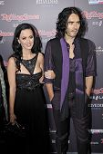 LOS ANGELES - NOVEMBER 22 - Katy Perry and Russell Brand attend the 2010 American Music Awards VIP After Party at the Rolling Stone Restaurant & Lounge on November 10, 2010 in Los Angeles, California.