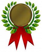 bronze award ribbons