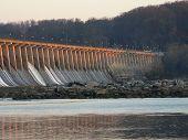 Glowing Dam