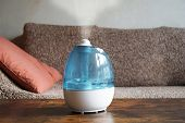 Humidifier Or Air Improver In Living Room To Improve Indoor Climate poster