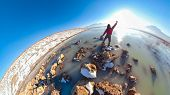 Discovery And Adventure In Unusual Places 360 Foto poster