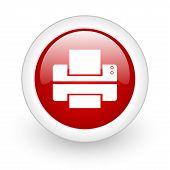 printer web button